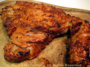 Barbecued Veal Chops