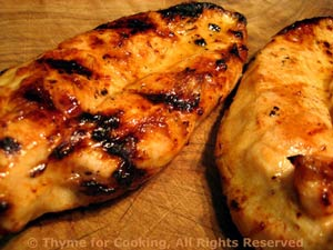 Marinated Chicken Breasts, Grilled