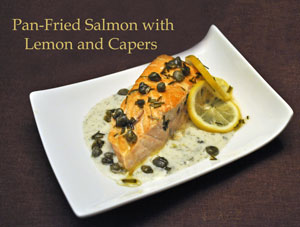 Pan-Fried Salmon with Capers