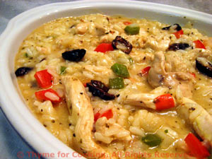 Turkey and Pepper Risotto