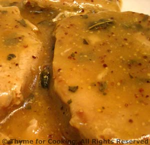 Pork Chops with Maple Syrup