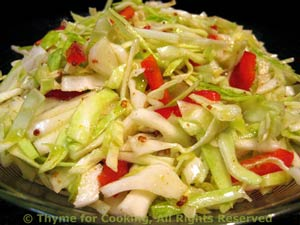 Tangy Coleslaw (Cabbage Salad)