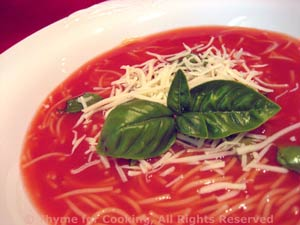 Chilled Tomato Vermicelli Soup