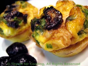 Greek Olive and Feta Mini Frittatas