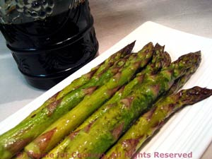 Roasted Asparagus Balsamic