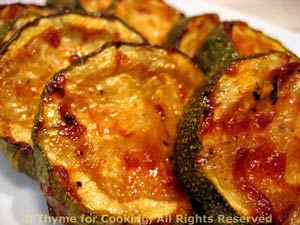 Barbecued Courgette (Zucchini)