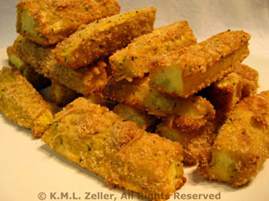 Baked Courgette (Zucchini) Sticks